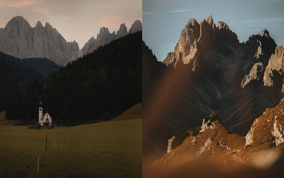 objetivos para paisajes